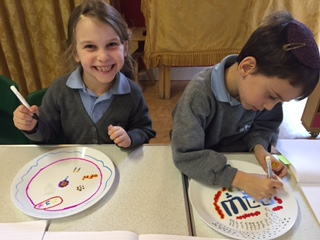 Plates for shabbat UK 1