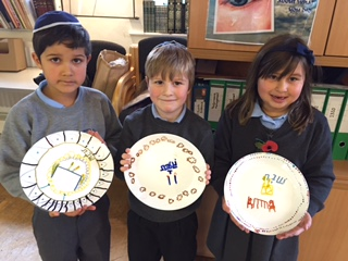 Plates for shabbat UK 10