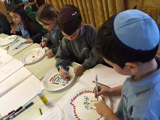 Plates for shabbat UK 2