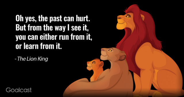 An Important Lesson from Lion King about Life and Reflection