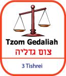 Year 5 & 6 LK groups - Tzom Gedaliah