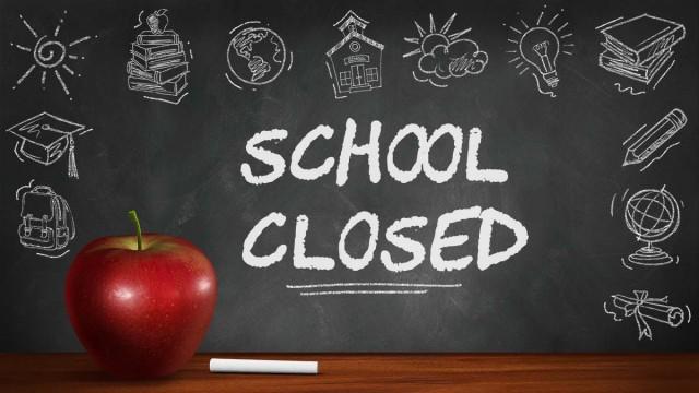 Schools closing on Friday
