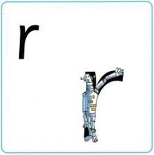 The letter we are learning this week is r