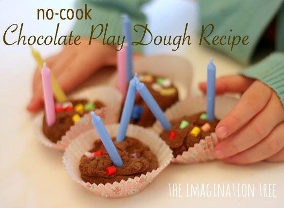 Chocolate Play Doh