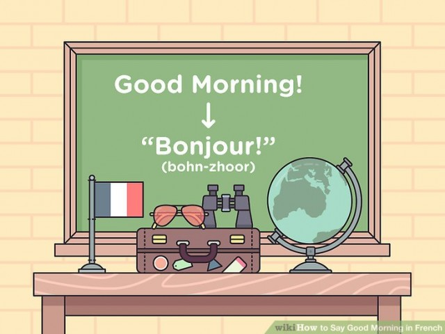French vocabulary - Greetings